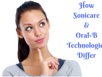How Sonicare & Oral-B Technologies Differ