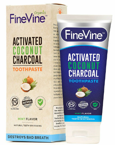 Fine Vine Charcoal Toothpaste 400x504