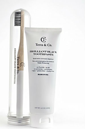 Terra Brilliant Black Charcoal Toothpaste 300x451