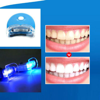 teeth whitening LED light results