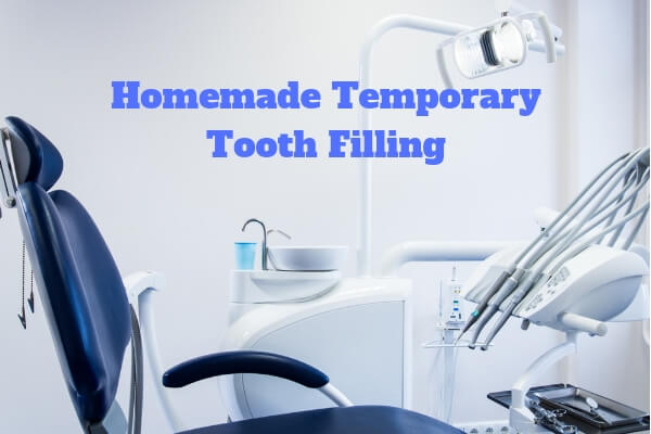 homemade temporary tooth filling