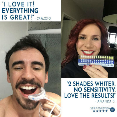 Box Includes Snow Teeth Whitening